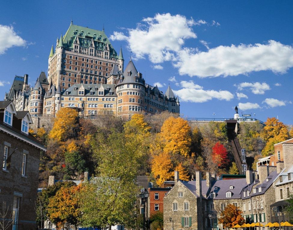 Fairmont Le Chateau Frontenac Gallery - Canada: Quebec: Quebec City