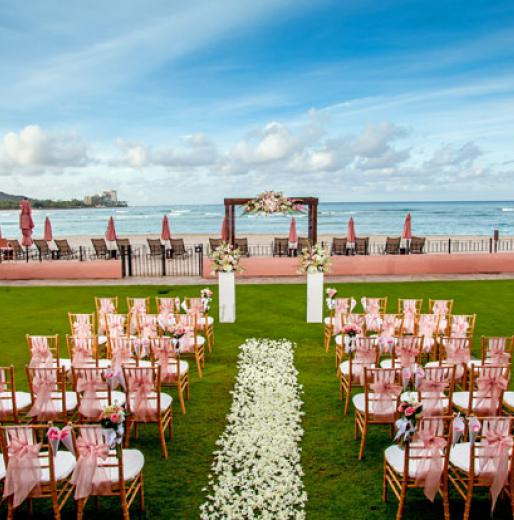 Destination Weddings 2018: The Royal Hawaiian a Luxury Collection Resort Waikiki